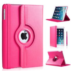 ipad-air-hoes-360-graden-roze-leer